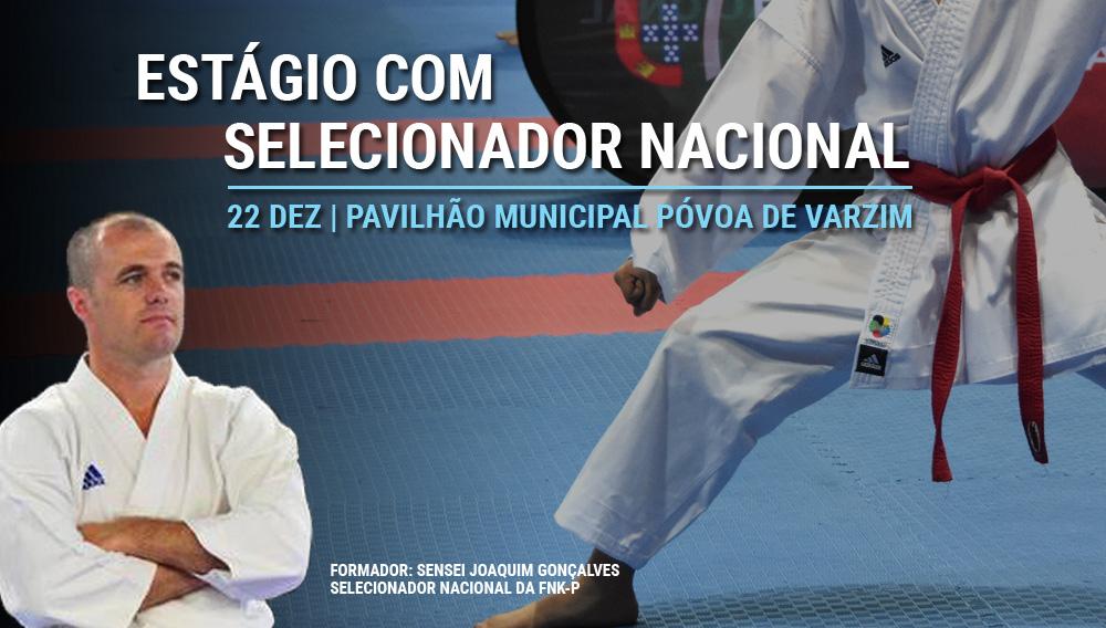 Estágio com o Selecionador Nacional a não perder!