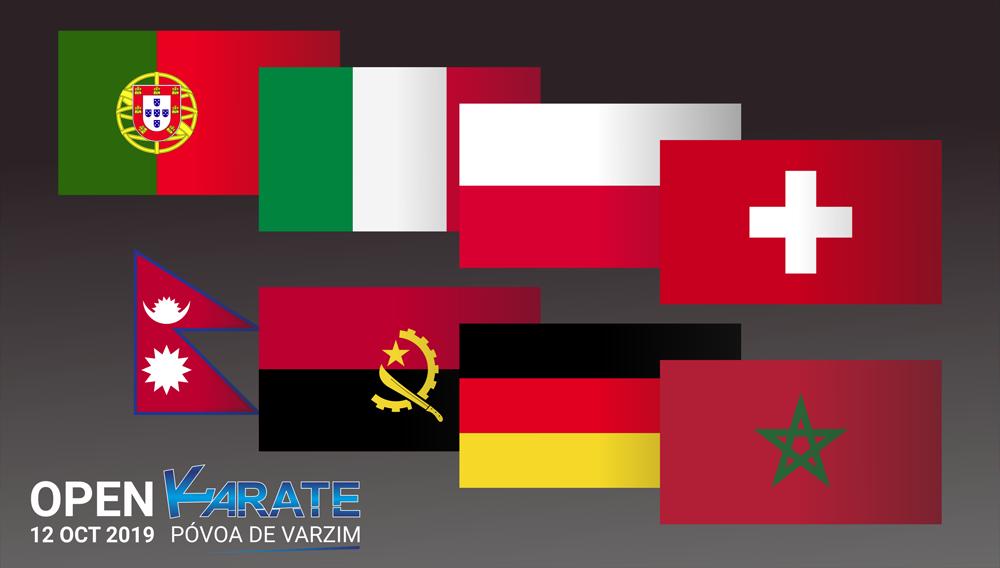 várias nacionalidades